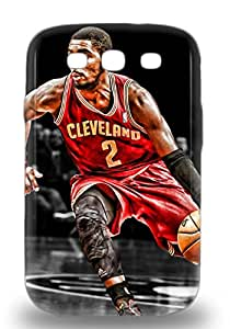 Galaxy Perfect Tpu 3D PC Case For Galaxy S3 Anti Scratch Protector 3D PC Case NBA Cleveland Cavaliers Kyrie Irving #2 ( Custom Picture iPhone 6, iPhone 6 PLUS, iPhone 5, iPhone 5S, iPhone 5C, iPhone 4, iPhone 4S,Galaxy S6,Galaxy S5,Galaxy S4,Galaxy S3,Note 3,iPad Mini-Mini 2,iPad Air )