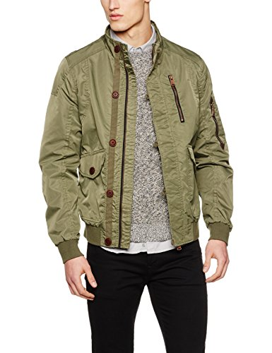 Green Jungle Blend para Hombre Verde Chaqueta ZwxgOYBqXg