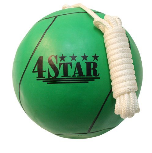 New GREEN Color Tether Balls for Play Grounds & Picnics Included With Ropes by Lastworld