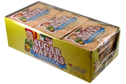 (Keebler Sugar Wafers Vanilla 12 - 2.75oz Packs)