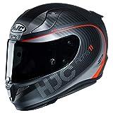 HJC RPHA 11 Pro Helmet - Bine (Small) (Black/RED)