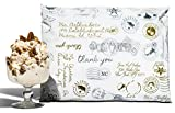 10x13 Pack of 100 Butter Pecan Postmark Poly Mailers a la mode