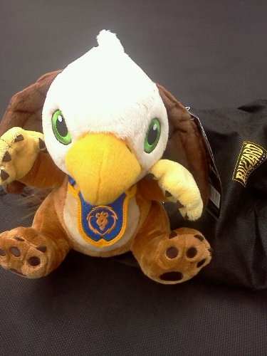 Gryphon Hatchling Plush with Unscratched Loot Card