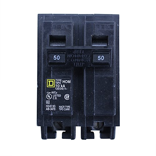 Square D HOM250 50 A Miniature Circuit Breaker for sale online