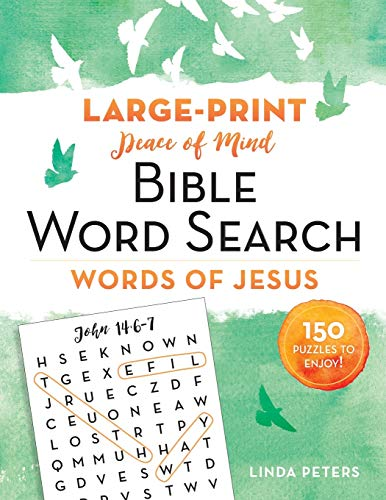 Peace of Mind Bible Word Search: Words of