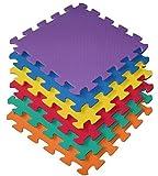 18 Piece Interlocking EVA Foam Activity Play Kids Baby Soft Mat Tiles Set