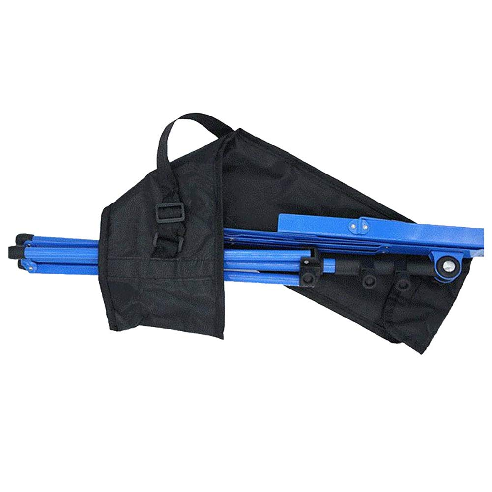 Color Negro Atril para partituras Ajustable, Metal, con Bolsa de Transporte Edwiin