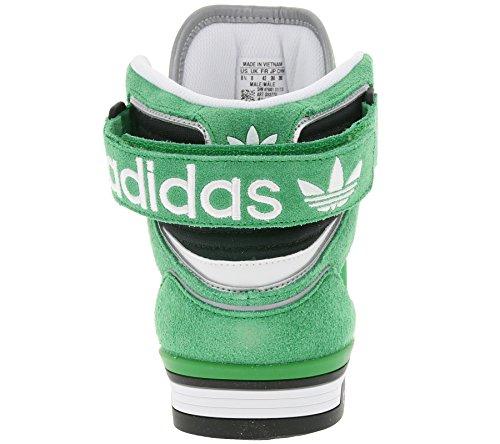 adidas, Sneaker uomo Verde Green, White, Black