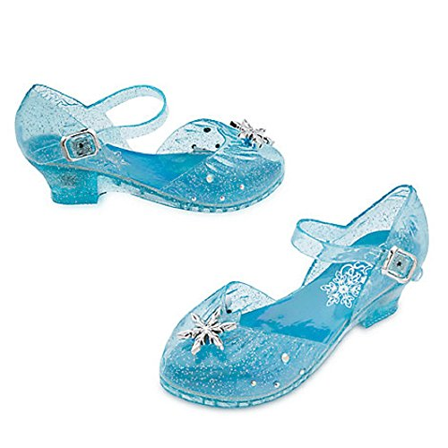 DISNEY STORE FROZEN ELSA LIGHT UP COSTUME SHOES SNOWFLAKES ~ 2016 (2/3)