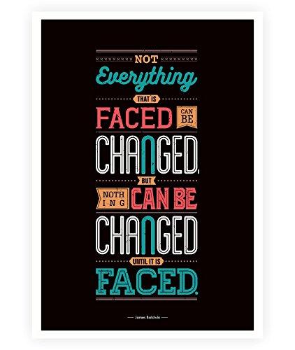 Amazon.com: LAB NO 4 Not Everything James Baldwin Life ...