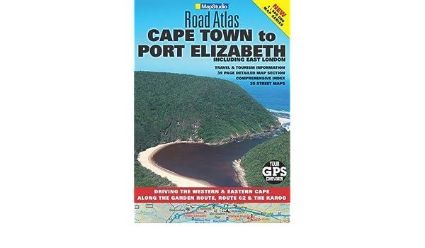 Road atlas Cape Town to Port Elizabeth: Including East London