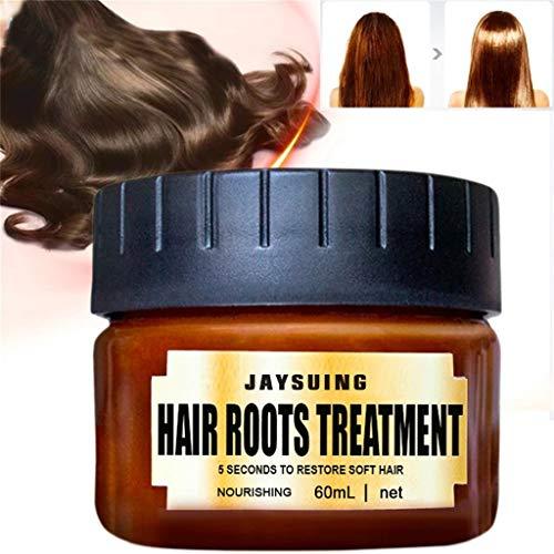 ★ Futurelove ★ Advanced Molecular Hair Root Treatment Collagen Intensive Treatment 60 ml, with argan Oil, jojoba Oil, shea Butter, and Aloe Vera, 100% Silicone Free & Animal Free