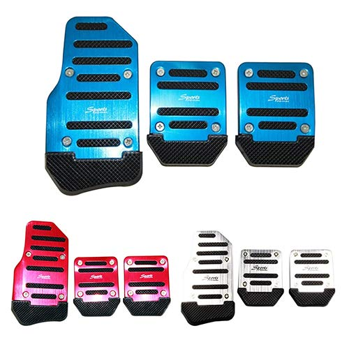 Amazon.com: Car Non-Slip Pedal Manual Car Brake Clutch Accelerator Alloy Antiskid Foot Treadle - Blue liyhh: Cell Phones & Accessories