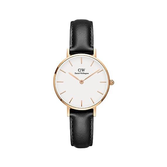 c3549ee912884e Daniel Wellington Women's DW00100230 Classic Petite Sheffield in White 28mm  Watch: Amazon.ca: Watches
