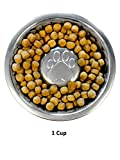 Neater Pet Brands Slow Feed Bowl Stainless Steel (1 Cup) Fits in Most 1 Quart Feeders