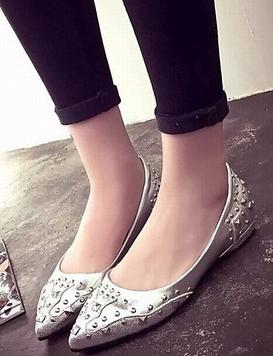 eu36 uk3 mujer cn35 Toe causal moda oficina PDX colores más zapatos disponibles us5 Pointed black 5 Flats remaches 5 aRZWcBqwc