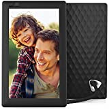 Nixplay Seed 7 Inch WiFi Cloud Digital Photo Frame with IPS Display, iPhone & Android App, Free 10GB Online Storage and Motion Sensor (Black)