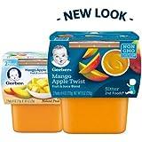 Gerber 2nd Foods Mango Apple Twist (Pack of 18)