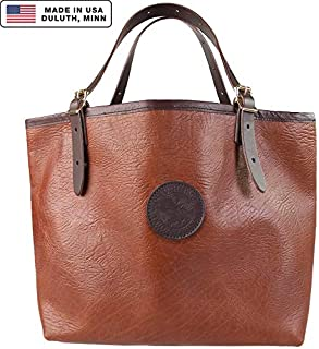 product image for Duluth Pack Market Tote Bison Leather (Brown)