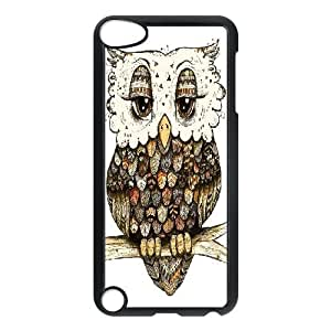 Dacase iPod Touch 5 Case, Tribal Owl Custom iPod Touch 5 Cover