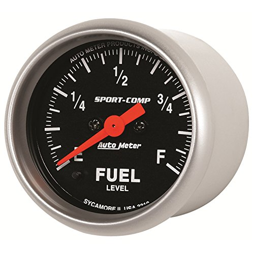 (Auto Meter 3310 Sport-Comp Electric Fuel Level Gauge)