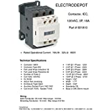 20 Amp Motor Control AC Contactor 18A 3 Phase 3-Pole, Lighting 32A Coil 120V - 100% Quality