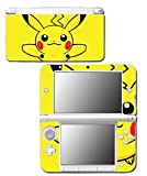 Pikachu Special Edition X Y Omega Ruby Alpha Sapphire Black and White Video Game Vinyl Decal Skin Sticker Cover for Original Nintendo 3DS XL System
