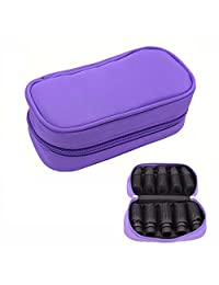 FUZEBAG Essential Oil Carrying Case Holds 10 Bottles for 5ml 10ml 15ml