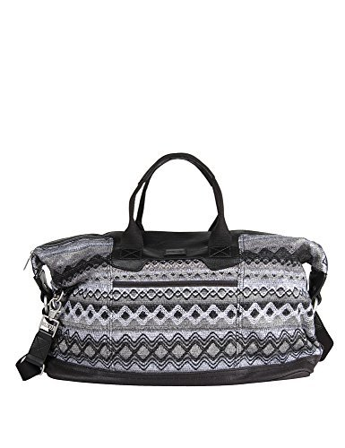 Toms Unisex Multi Sweater Felt Black Weekender Bag