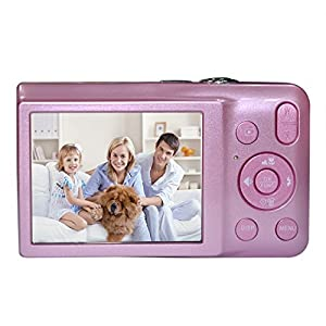 KINGEAR V100 2.7 Inch TFT Color LCD Screen 15MP 720P HD Anti-shake Smile Capture Digital Video Camera With 5X Optical Zoom 4X Digital Zoom