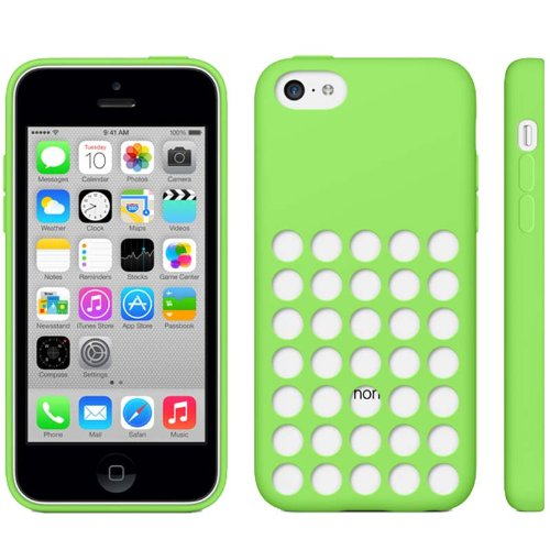 iPhone 5C Hülle / Case / Cover in grün aus hochwertigem TPU (Silikon) -ORIGINAL nur von THESMARTGUARD-