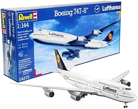 Revell Germany Boeing 747-8 Lufthansa Model Kit: Amazon com