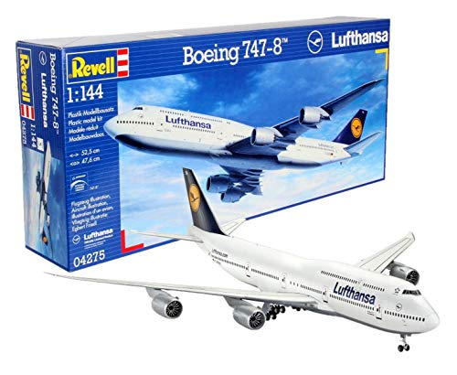 Revell Germany Boeing 747-8 Lufthansa Model Kit