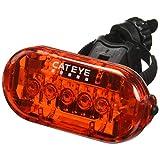 Cateye TL-LD155-R Luz Trasera Intermitente, 3 Funciones, 5 LEDS
