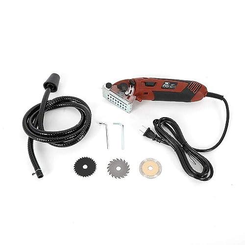 Electric Handheld Cutting Multi Function Mini Circular Saw Kit Tool 400W
