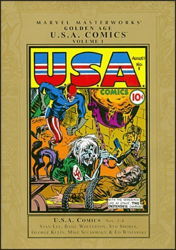 Marvel Masterworks: Golden Age USA Comics - Volume 1