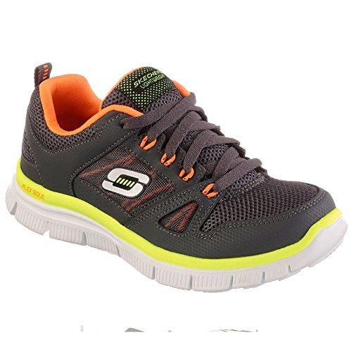 Skechers - Zapatillas de deporte Modelo Flex Advantage para niños Marino/Lima