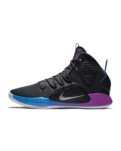 huge sale 6c4f3 35a15 Nike Hyperdunk X, Chaussures de Basketball Homme, Multicolore Cool  Grey/Team Red 002