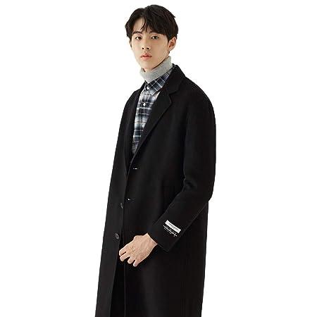 Cappotti Giacca a Vento Trench Lungo da Uomo Giacca con