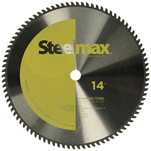 Steelmax 14'' TCT Blade for Stainless Steel by Steelmax