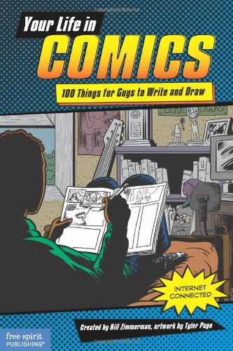 Your Life in Comics: 100 Things for Guys to Write and Draw by Free Spirit Publishing (Image #5)