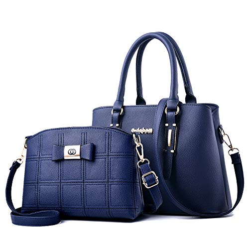Blue Per Donna Pelle Messenger Mamma La Moda Da Flht A In Cosmetici Tracolla b Borsa qRcwBUFO