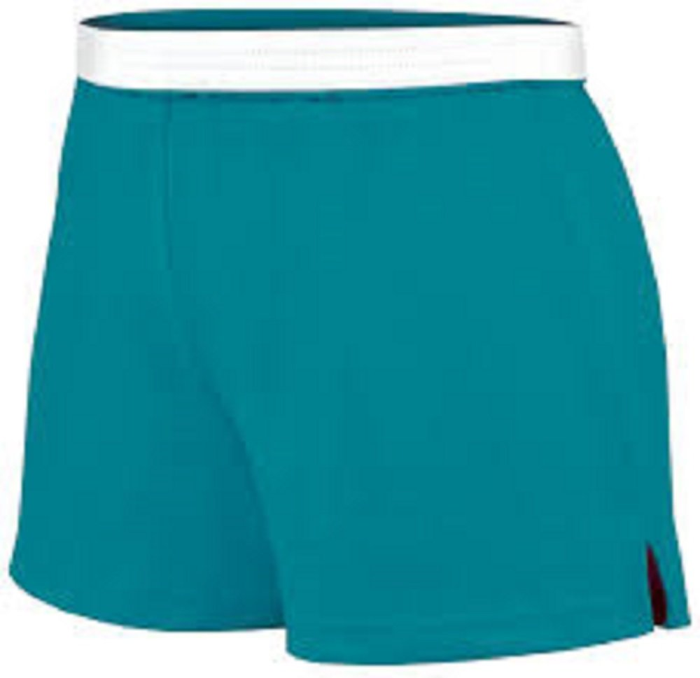 Soffe Junoir Teal Authentic Short-SMALL
