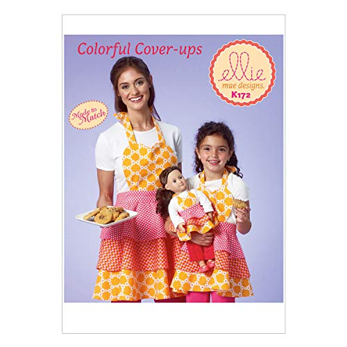 - KWIK-SEW PATTERNS K0172 Misses'/Girls'/Dolls' Apron