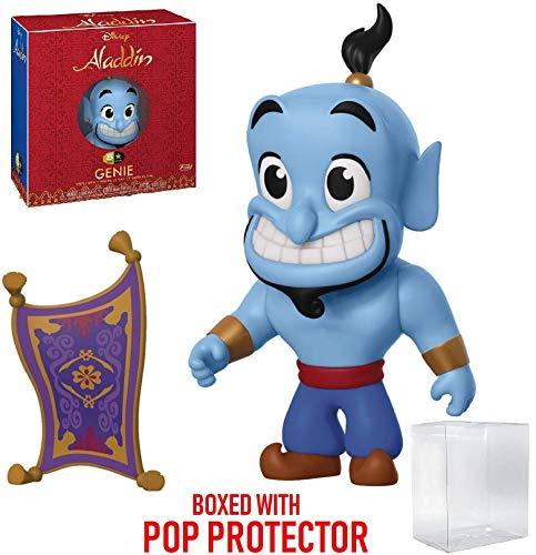 Funko 5 Star Disney: Aladdin - Genie with Magic Carpet Action Figure (Includes Pop Box Protector Case)