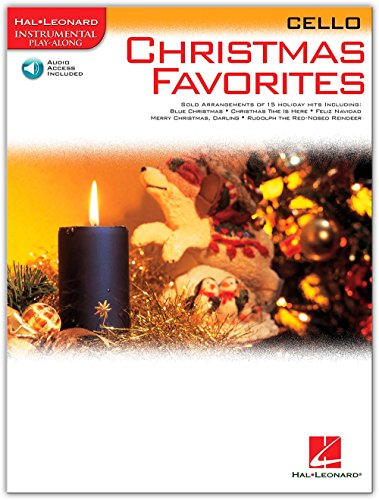 Hal Leonard Christmas Favorites for Cello Book/Online Audio Instrumental Play-Along by Hal Leonard