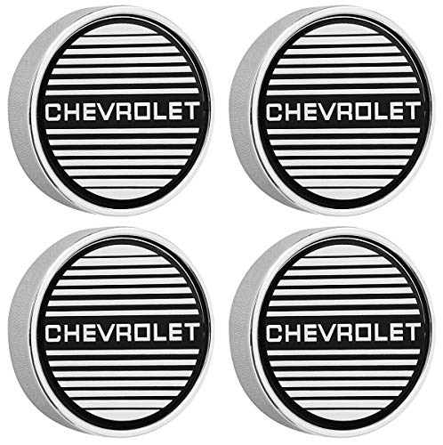 - GM Restoration Set of 4 New Chrome N90 Aluminum Wheel Center Caps Replacement for 1983-1988 Chevrolet Monte Carlo SS Super Sport