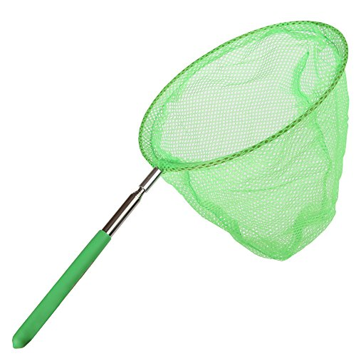 Home-X Telescoping Butterfly Net, Bug Net, Outdoor Toy -