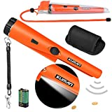 Kuman KW30S Pin Pointer Metal Detector Kit with Multifunctional Pvc Waterpro, Metal Detector with Waterproof Case