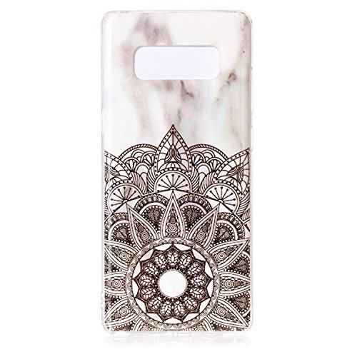 Price comparison product image Urberry Samsung Galaxy Note 8 Case, 3D Marble Pattern Case for Samsung Galaxy Note 8 with a Free Screen Protector (C)